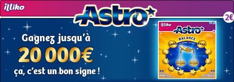 Gagnez jusqu'à 20 000 € sur fdj.fr avec Astro