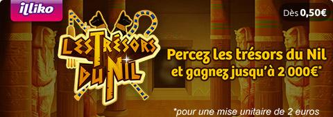 Fiche Jeu Les Trésors du Nil