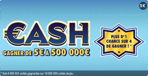 Fiche Jeu Cash 500 000 €