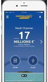 Application Euro Millions - My Million