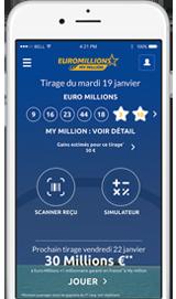 Jouez � Euro Millions sur Mobile