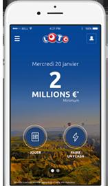 Application Mobile LOTO(R)