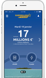 Application Euro Millions - My Million