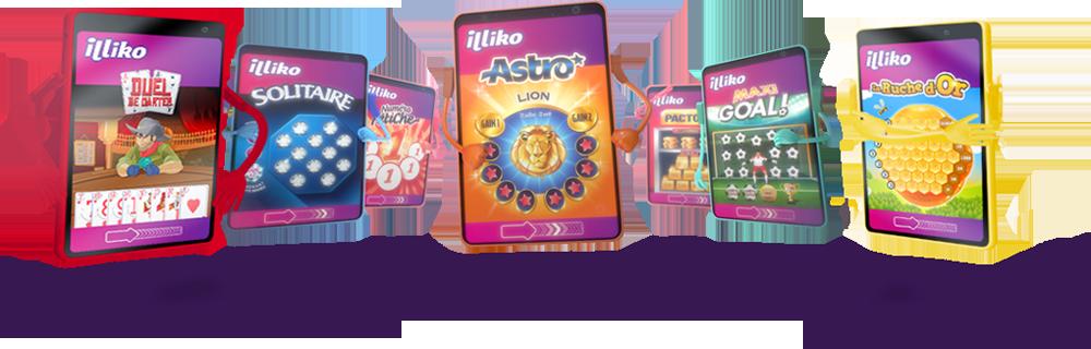 Découvrez les Jeux Illiko(R)