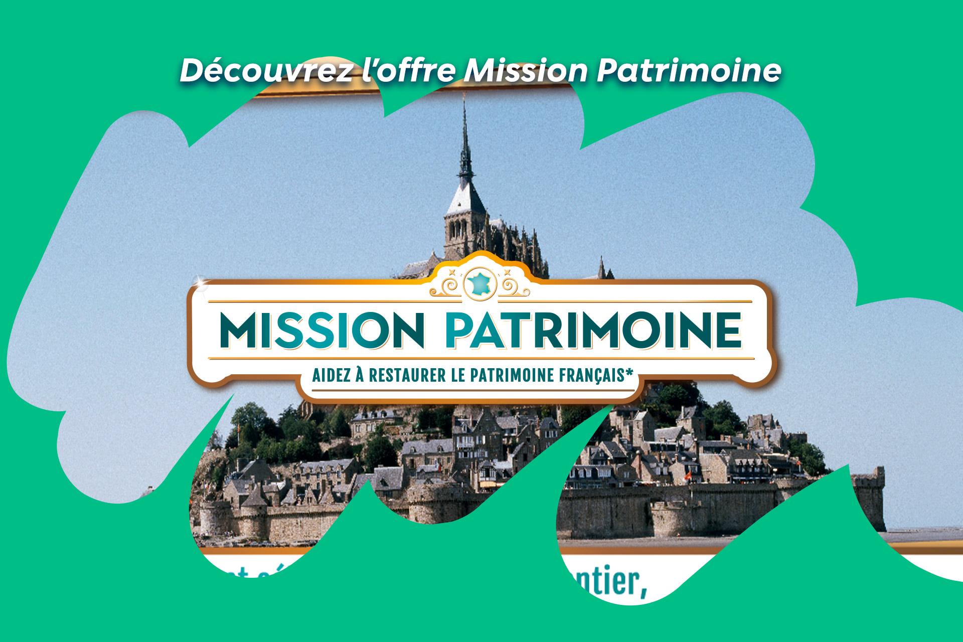 Découvrez la Mission Patrimoine sur FDJ.fr