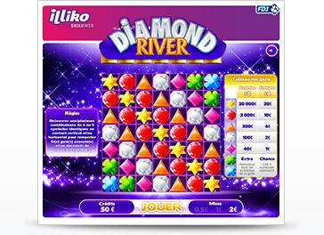 Visuel du jeu Diamond River
