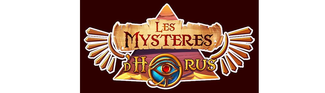 Les mystères d'Horus | Logos