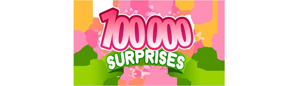 100 000 Surprises Fête des mères
