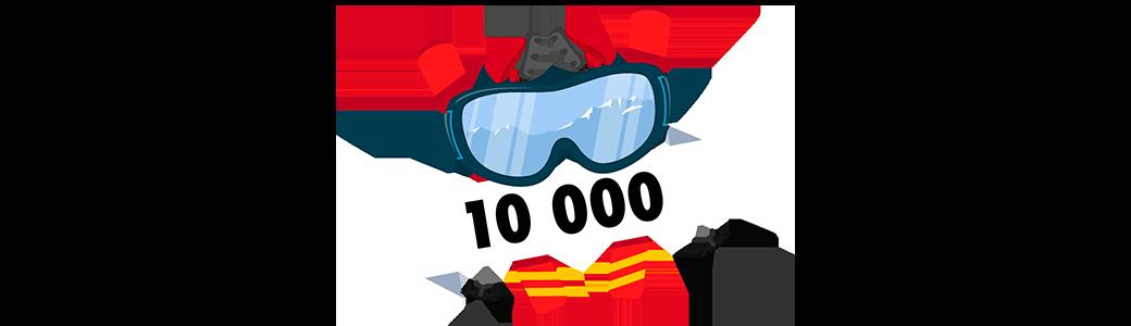 Bingo 10 000 Ski