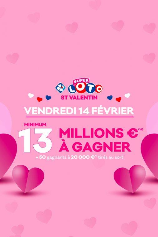 Super Loto Saint Valentin 140220