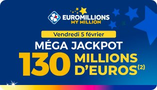 Mega Jackpot Euromillions