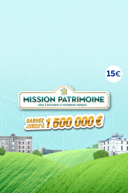 Mission Patrimoine 15€
