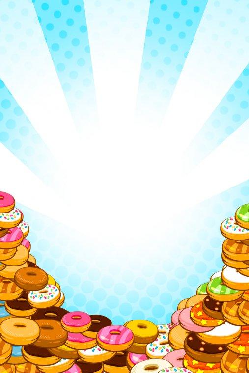 Pile Up Donuts | Master Desktop (fond)