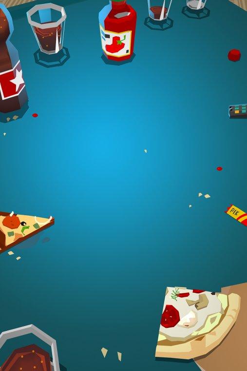 Popote entre potes pizza | Master Desktop (fond)