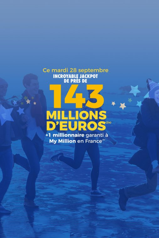 EuroMillions - Mega jackpot (28/09/21)